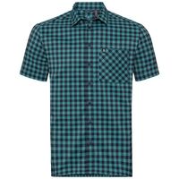 Shirt NIKKO CHECK, diving navy - baltic - check, large