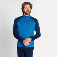 Men's PROITA Full-Zip Midlayer Top, directoire blue - estate blue, large