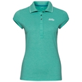 Polo KUMANO, pool green melange, large
