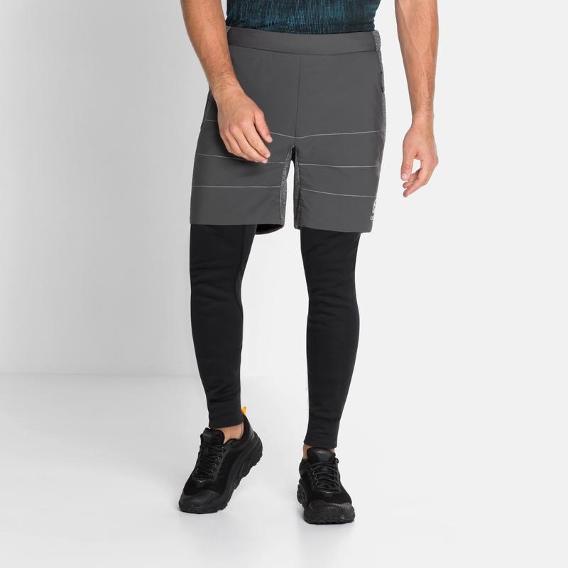 MILLENNIUM S-THERMIC-short voor heren, odlo graphite grey, large