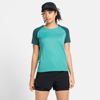 Damen ESSENTIAL Laufshirt, jaded - balsam, large