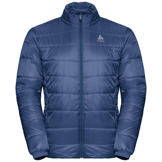 Gevoerde COCOON S-THERMIC-jas voor heren, estate blue, large