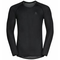 Men's ACTIVE F-DRY LIGHT ECO Base Layer Top, black, large