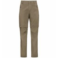 Pantalon zippé2-en-1 WEDGEMOUNT pour homme, lead gray, large