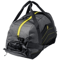Bag TRAINING, odlo graphite grey - safety yellow, large
