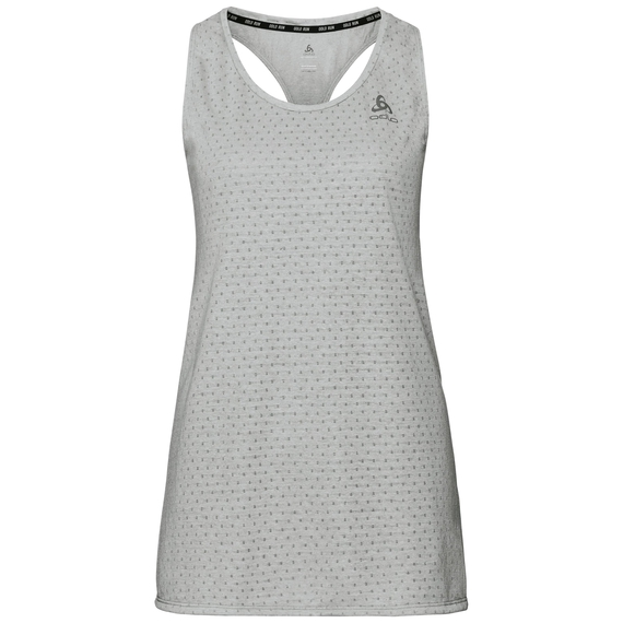 MILLENNIUM LINENCOOL Tanktop, light grey melange, large
