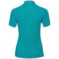 Polo shirt s/s GEORGIA RT, peacock blue, large