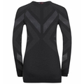 Women's NATURAL + KINSHIP WARM Long-Sleeve Baselayer, black melange, large