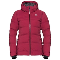 Giacca isolata SKI COCOON, rumba red, large