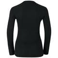 SUW Top Active Originals Warm langärmeliges Oberteil mit V-Ausschnitt, black, large
