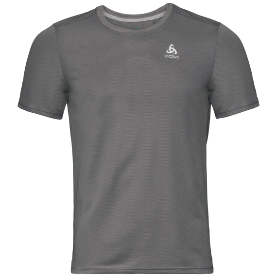 T-shirt F-DRY pour homme, odlo steel grey, large