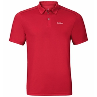 Men's PETER Polo Shirt, chinese red, large