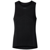 BREATHE baselayer singlet men, black, large