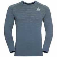 Men's BLACKCOMB PRO Long-Sleeve T-Shirt, china blue - space dye, large