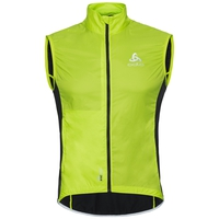 Veste Cycle sans manches ZEROWEIGHT pour homme, acid lime - black, large