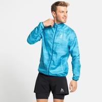 Men's ELEMENT LIGHT AOP Jacket, horizon blue - graphic SS21, large