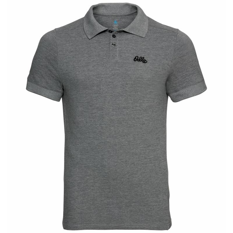 Herren NIKKO Poloshirt, odlo graphite grey melange, large