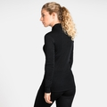 Women's ACTIVE WARM Turtle-Neck Long-Sleeve Base Layer Top, black, large