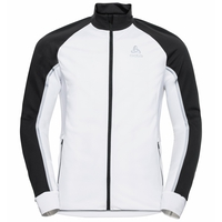 Men's AEOLUS PRO Cross-country Jacket, white - black, large