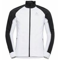 Veste de ski de fond AEOLUS PRO pour homme, white - black, large