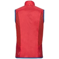 Vest OMNIUS Light, fiery red - energy blue, large