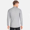 Haut technique à manches longues et col montant ACTIVE WARM pour homme, grey melange, large