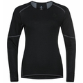 Women's ACTIVE X-WARM ECO Long-Sleeve Baselayer Top, black, large