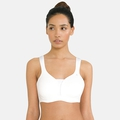Women's Padded HIGH E-Cup Sports Bra, white, large