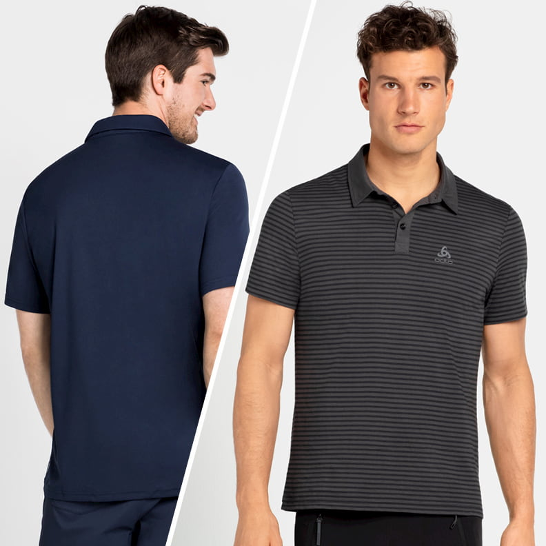 Polo shirts from ODLO for active men