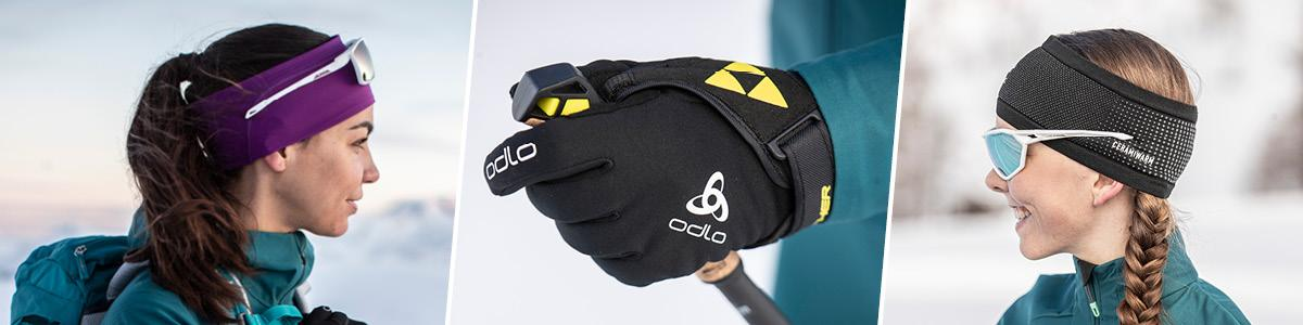 Odlo women accessories, gloves, hats, tubes