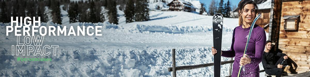 ODLO Women/'s Functional Shirt Long Sleeve Shirt Half Zip Performance skiers