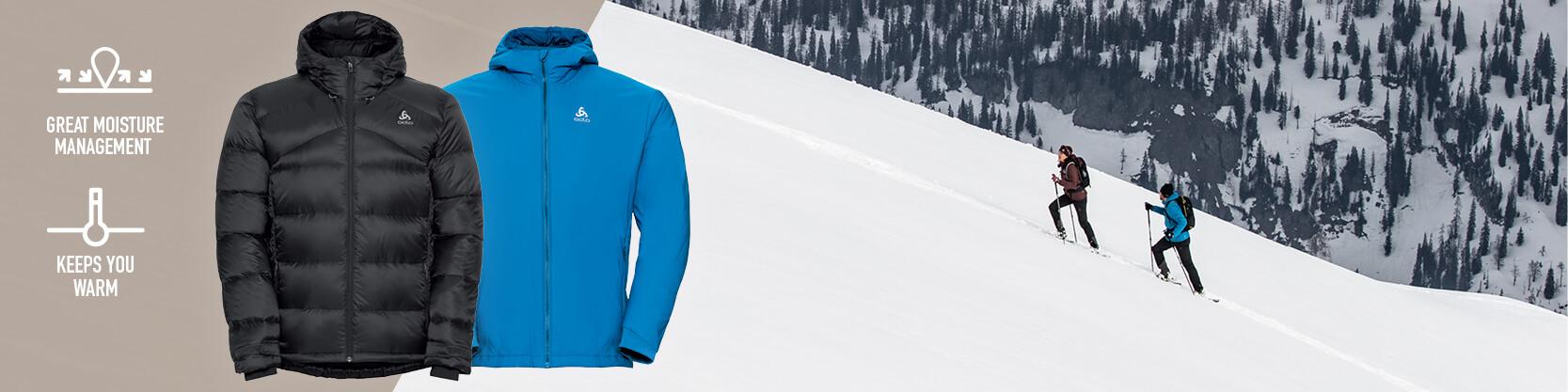 Odlo Men's Jackets and Vests
