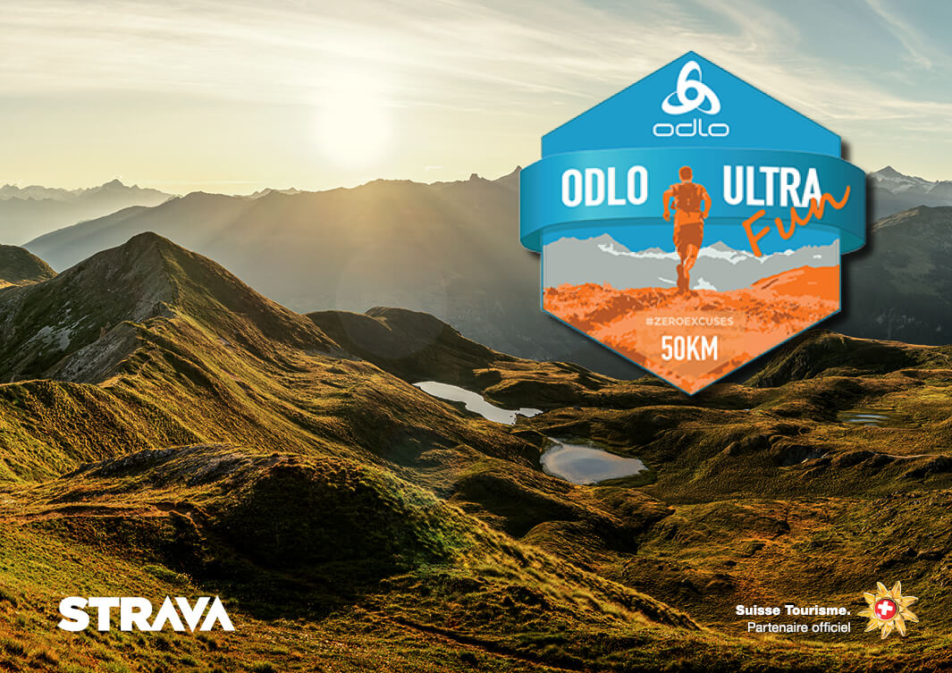 Join the ODLO ULTRA FUN Strava Challenge