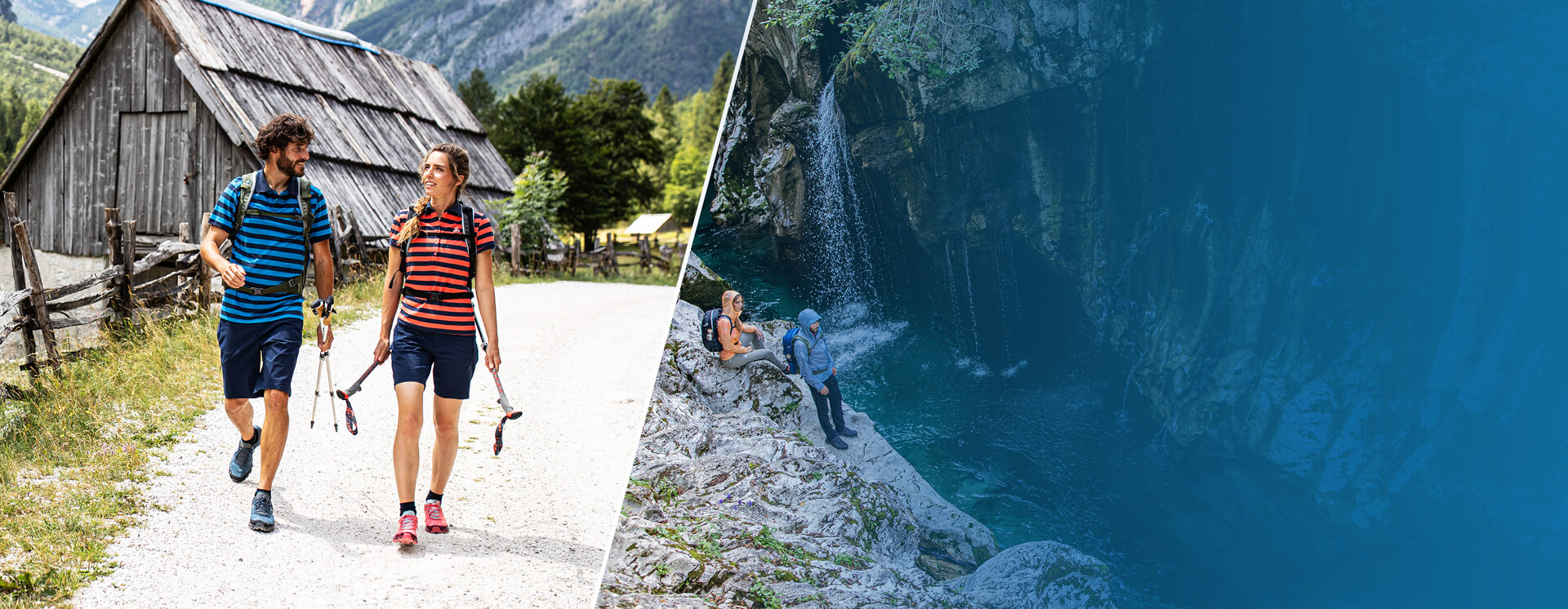SUMMER SALE up to -30% on the current hiking & trekking collection for men and women