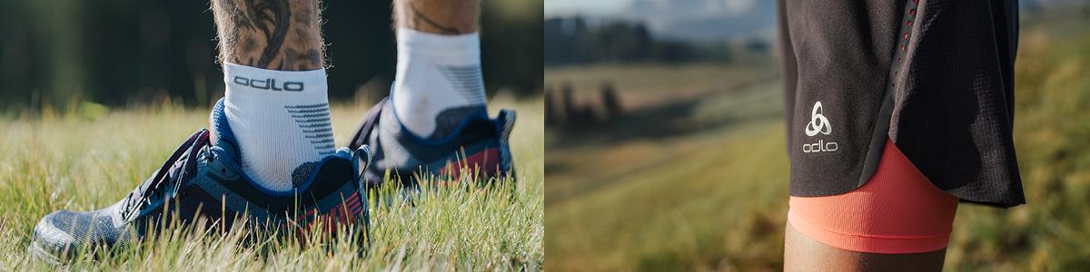Sichere dir jetzt 20% Rabatt auf eine Auswahl von Shorts, Tights und Socken.