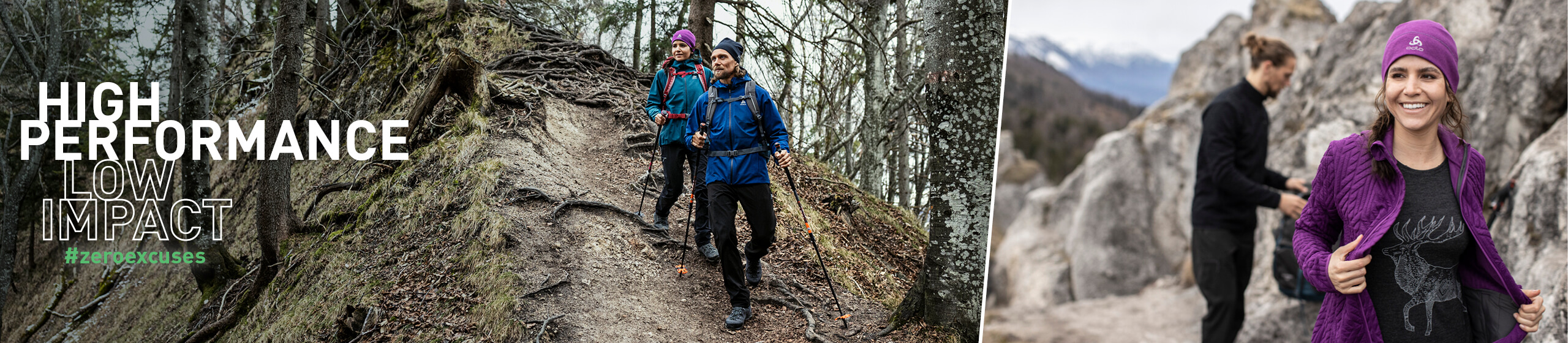 ODLO Hiking-Trekking Collection Automne Hiver 2020