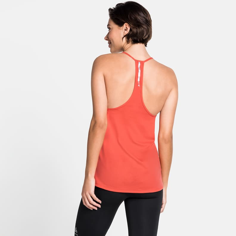 a T-shirt from ODLO for hot days