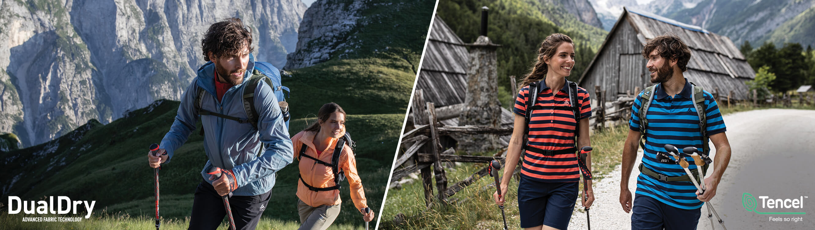 ODLO Hiking-Trekking Collection Spring-Summer 2020