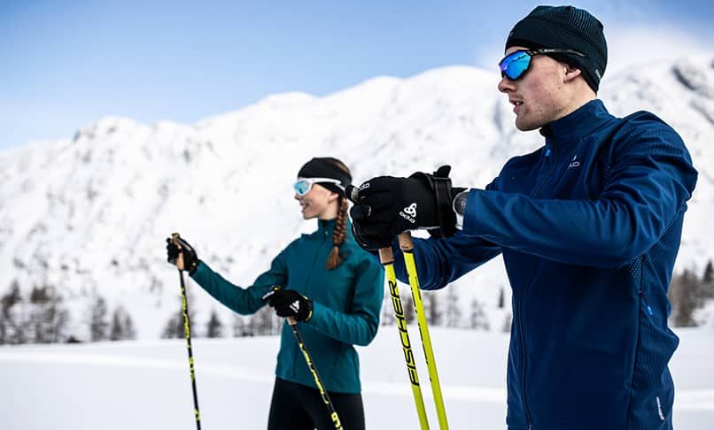Cross-country skiing clothing for men from ODLO