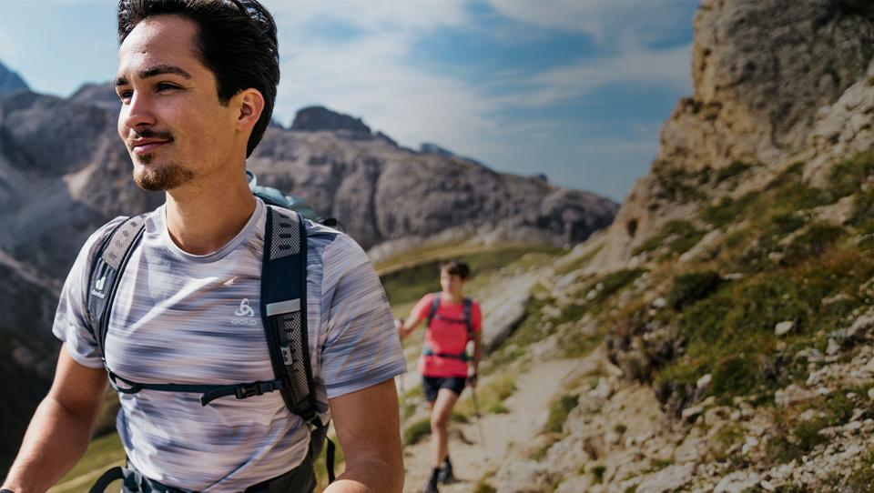 Hiking apparel for long outdoor days.