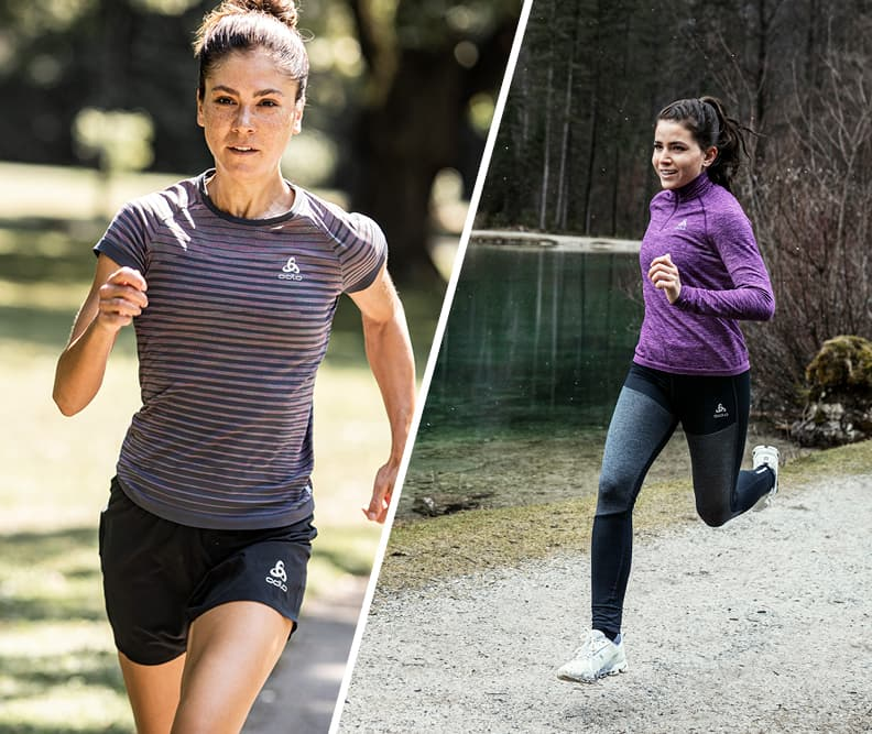 Running trousers for women