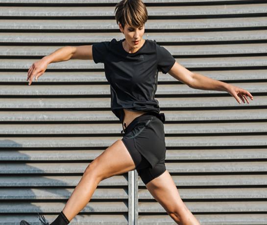 Running trousers for women