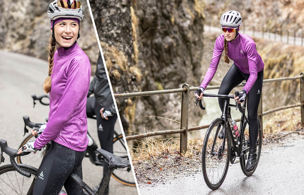 Cycling clothing for women at ODLO