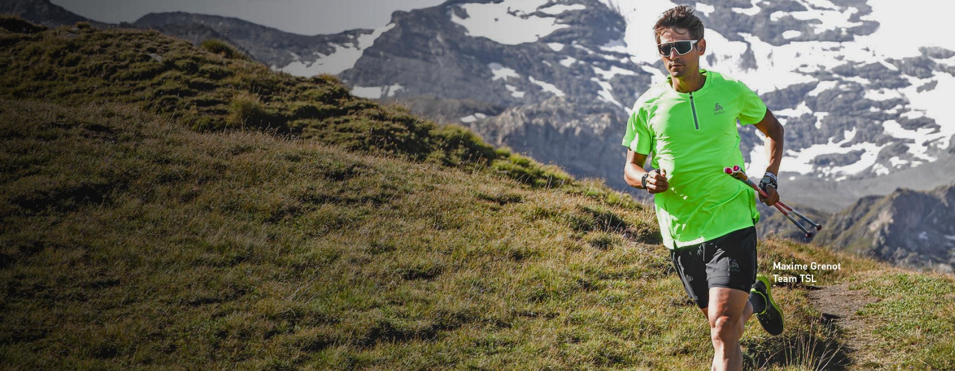 New ODLO trail running collection.
