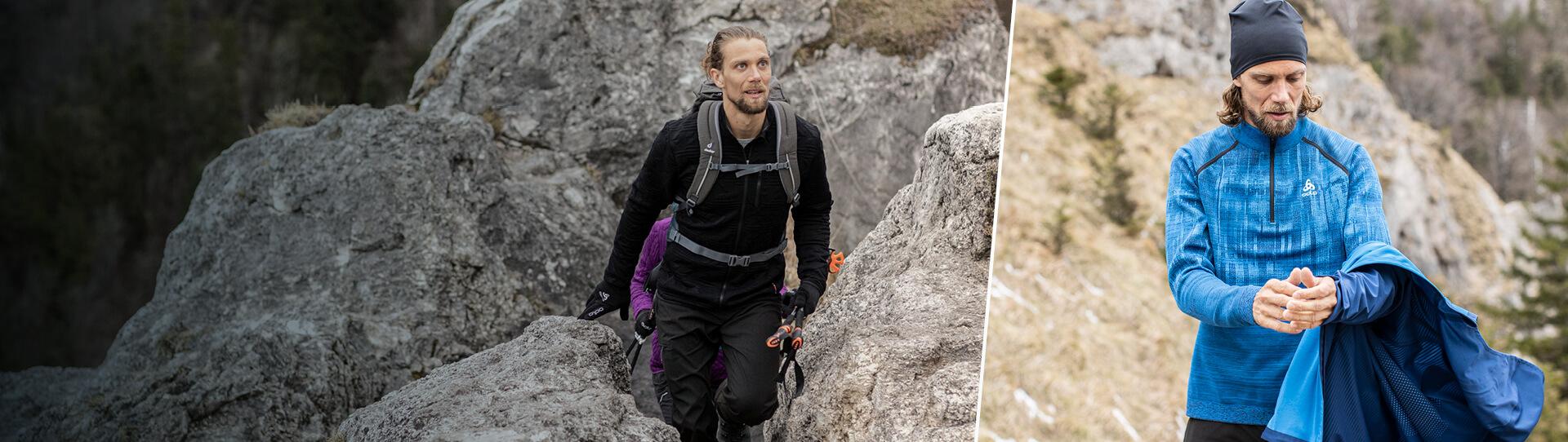 Odlo Men's hiking - trekking collection