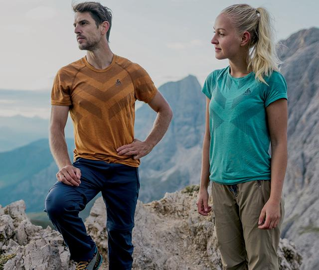 Base layers for hiking