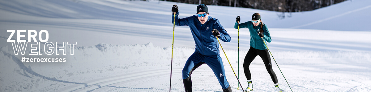Cross-country skiing clothing for women: suitably dressed in the cross-country ski run