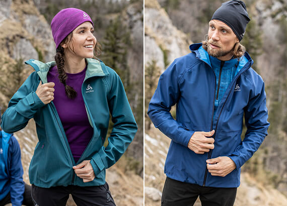 Blackcomb Futureknit 3L Jacket - a unique knitted three-layer jacket