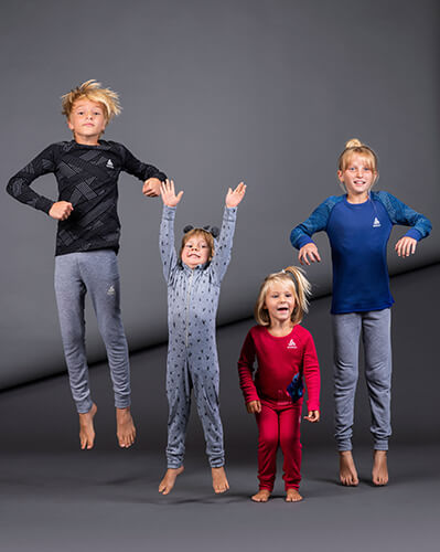 Colourful sportswear for children