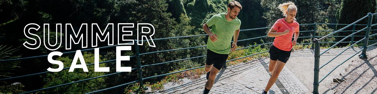 Men and women running apparel on sale
